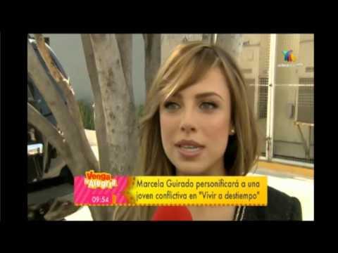 """Marcela Guirado habla de su personaje """"Tania"""" en Vivir a"""