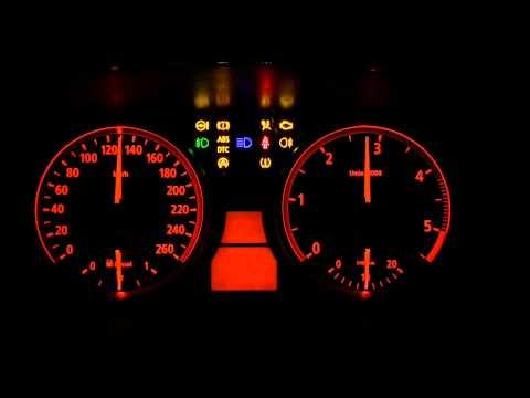 BMW E60 5er 525d KI Test Tacho Check Tachoeinheit Geheimmenü Anleitung