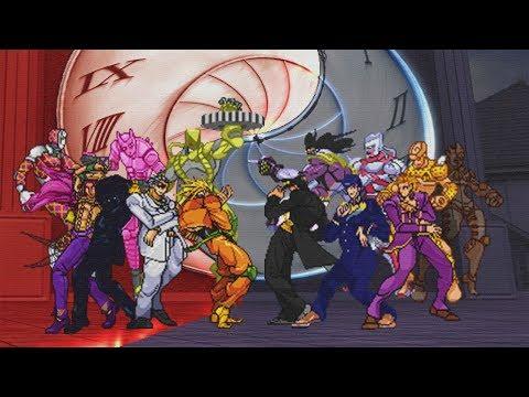 Dio, Kira And Diavolo VS. JoJo Team