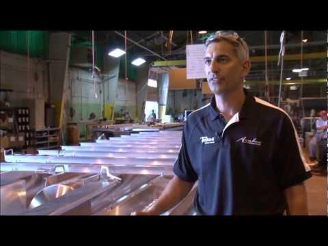 Avalon Pontoon Boats: Factory Tour Part 1