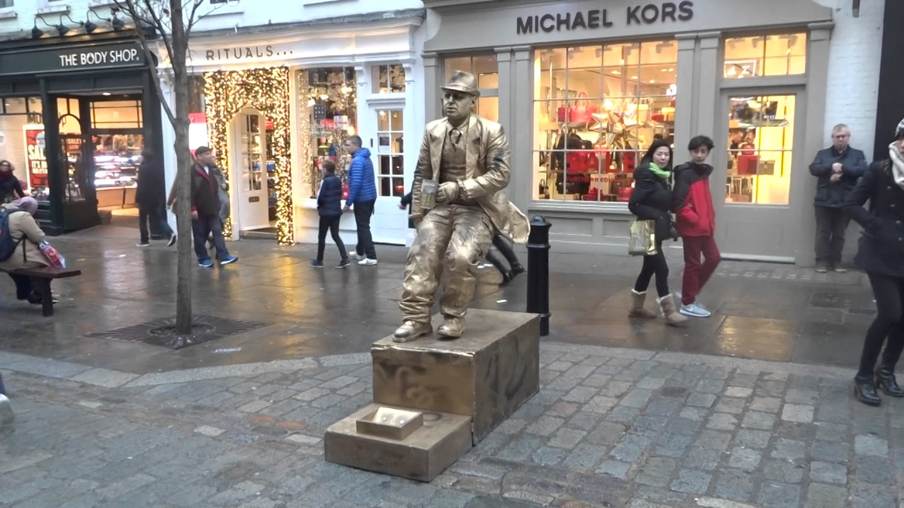 Amazing Street Artists, Covent Garden, London - YouTube