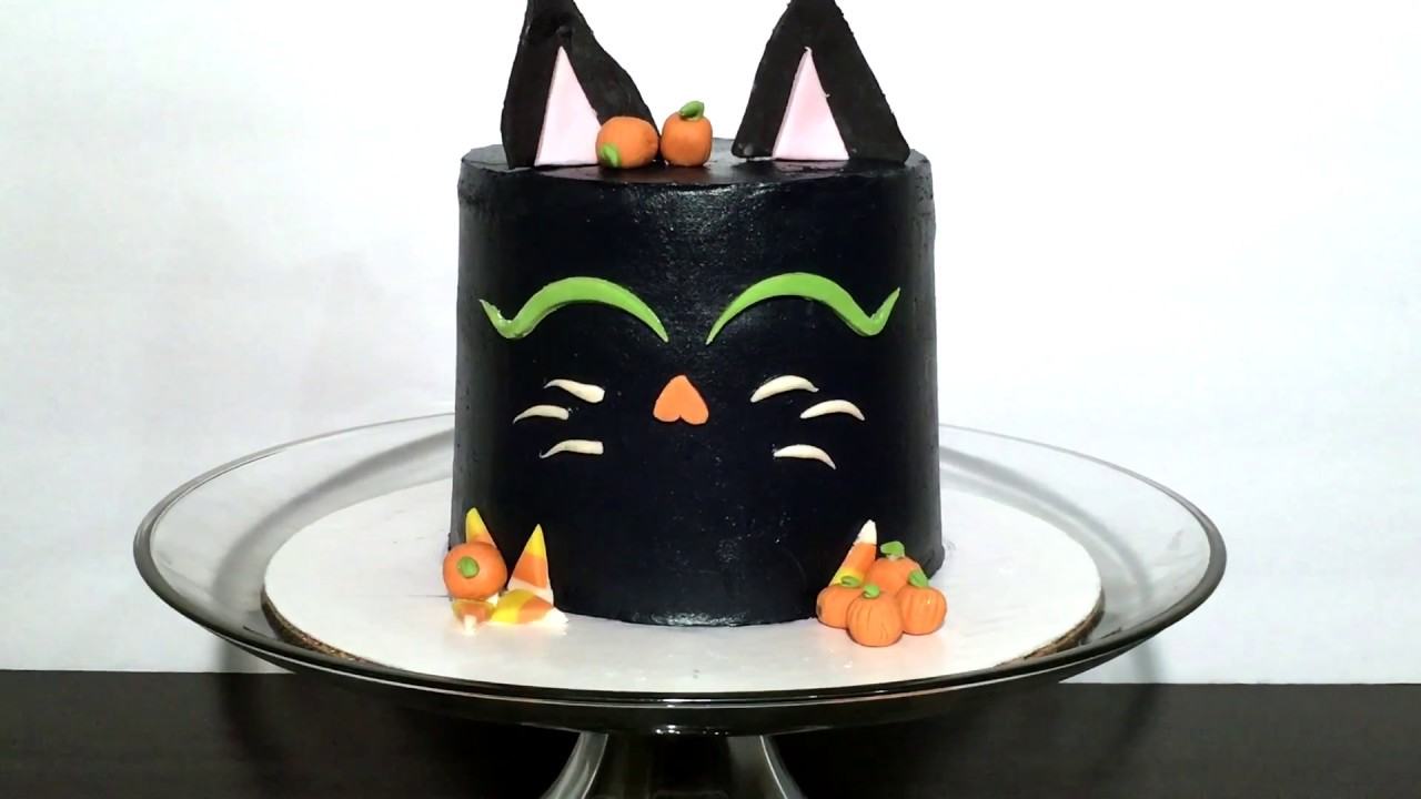 Image result for black cat cake