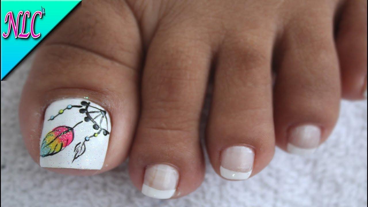 Decoración De Uñas Para Pies Atrapasueños Dream Catcher Nail Art