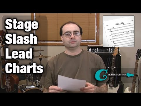 MUSIC READING - Level 5: Understanding Stage/Slash/Lead Charts
