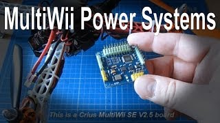 How to connect the power system (ESC, BEC and power board) in your multirotor/quadcopter