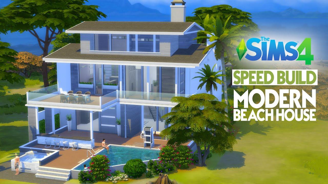 Beach House Designs Sims 4