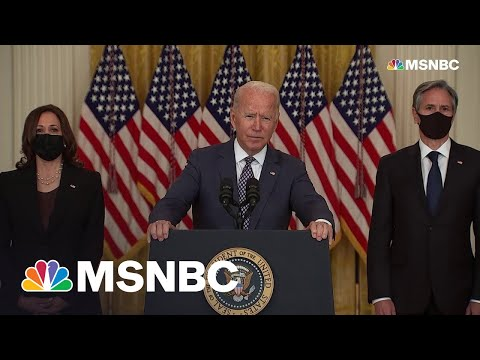 Biden Assures US Is Doing 'Everything We Can' To Evacuate Allies From Afghanistan