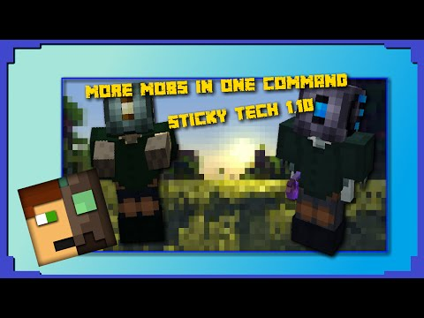 More Mobs in one command! [Minecraft] [One command] [StickyTech] [1.10]