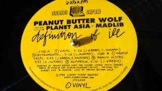 Peanut Butter Wolf Planet Asia Madlib - Definition Of Ill Remix (Instrumental)