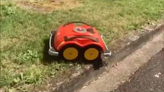 ROBOT WR10  WOLF JARDIN EN ACTION