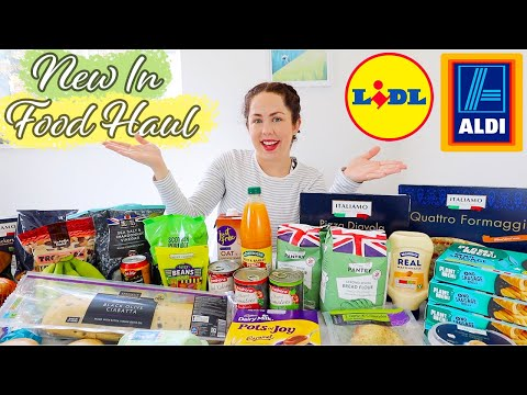 ALDI AND LIDL FOOD HAUL WITH PRICES | May 2021 NEW IN