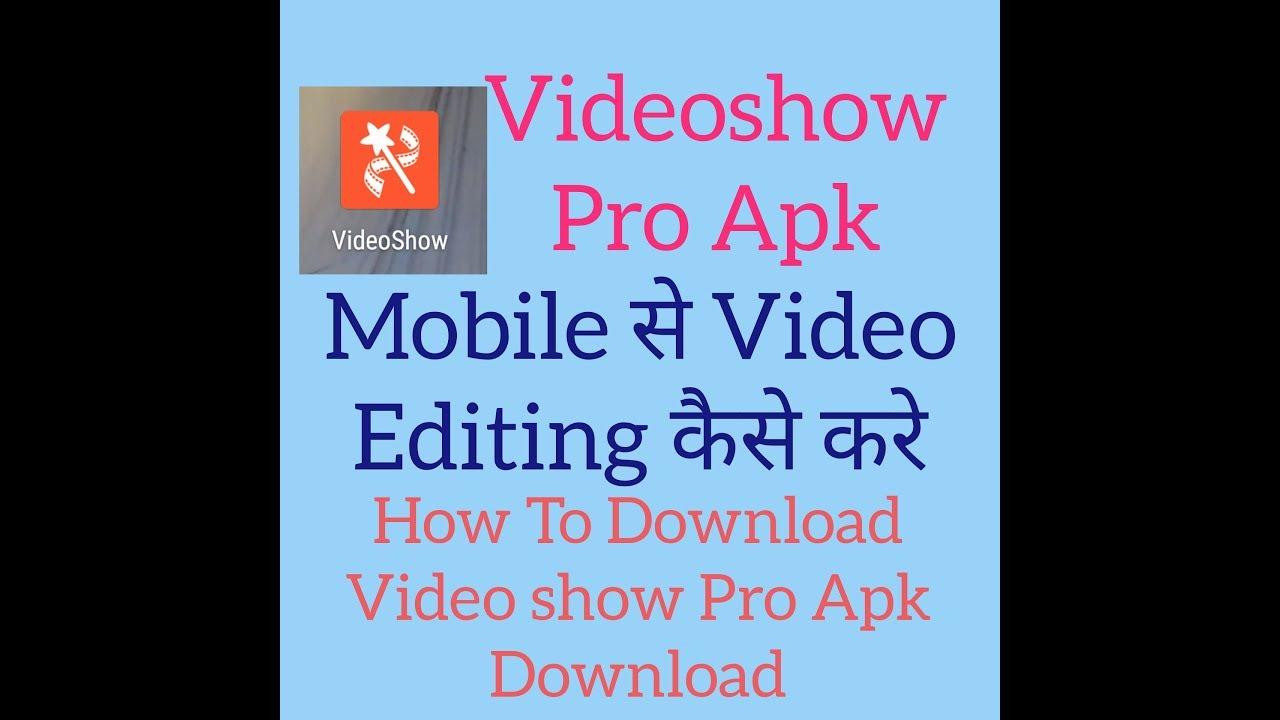 download videoshow premium apk