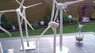 Unboxing Enercon E- 40 Solar Windrad Modell, solar wind turbine