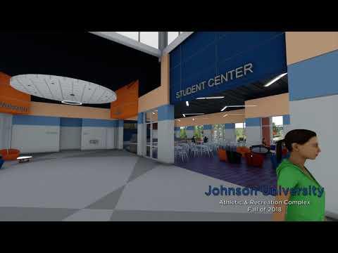 Sneak Peek Inside The ARC at Johnson University!