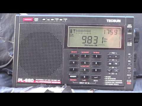 Voice of Turkey 9830 Khz Shortwave at 2200 UTC