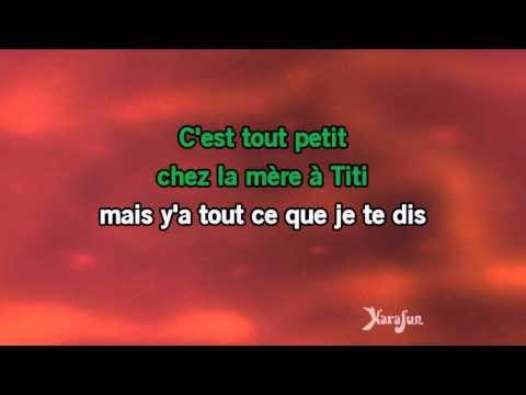 Karaoké La mère à Titi - La bande à Renaud *