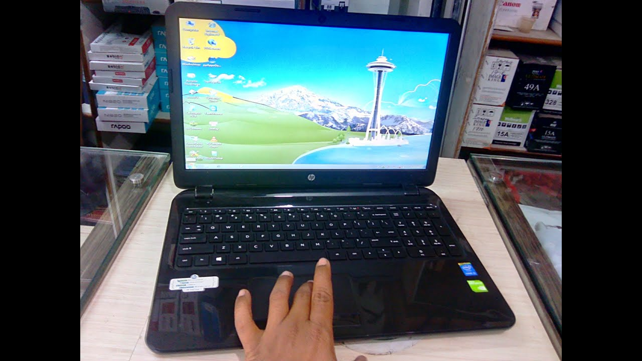 Hp 15 R032tx Laptop I34gb500gb Hands On Review Baut Hardisk