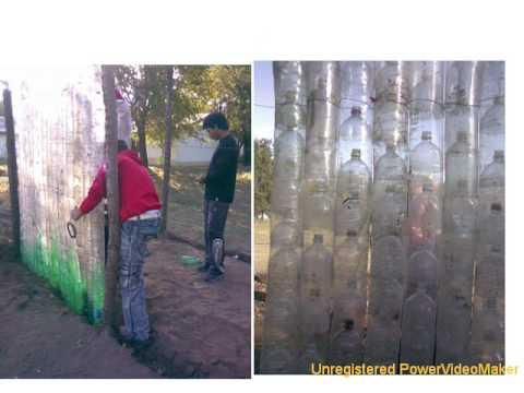Peque o invernadero con botellas de pl stico 02 07 20 44 for Como hacer un jardin pequeno