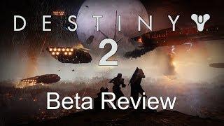 Destiny 2 PC Beta Review (Hunter Gameplay)