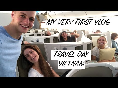 MY FIRST VLOG // VIETNAM TRAVEL DAY