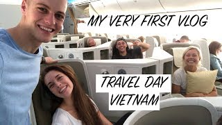 MY FIRST VLOG // VIETNAM TRAVEL DAY