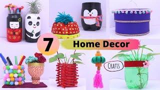 7 Plastic Bottle Craft Idea | Easy Useful Bottle Hacks | Best out of Waste | Aloha Crafts