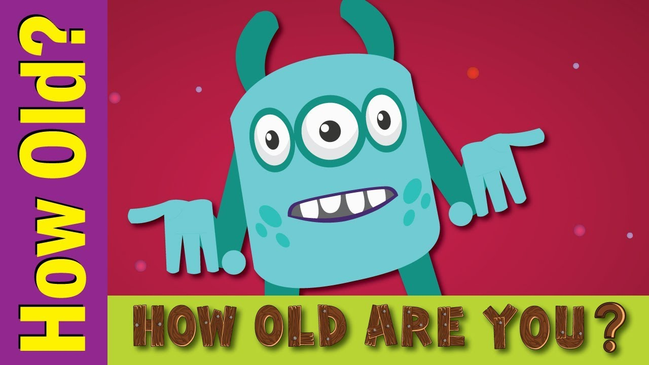 How Old Are You Song Kids Esl Songs Fun Kids English Youtube