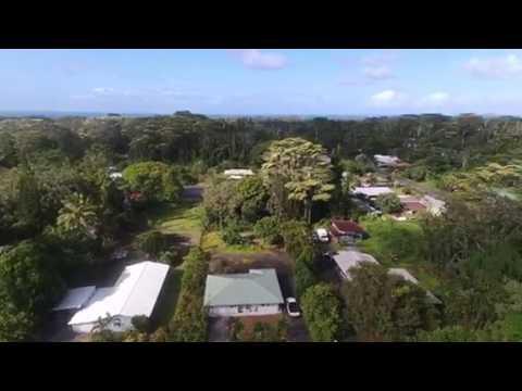 Parrot drone Bigisland Puna Hawaii