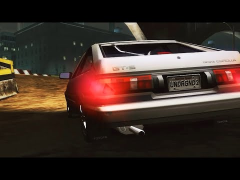 Nfs Underground 2 Toyota Corolla Street X Race Replay Youtube
