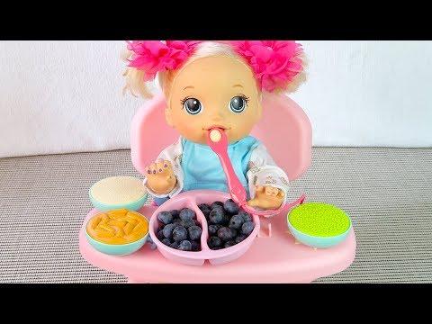 Капризная Девочка Не Хочет Кушать Как Мама Хотела Накормить Куклу Пупсика 108мама тиви