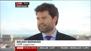 BBC World News talks to Bruno Bernard on French presidential election