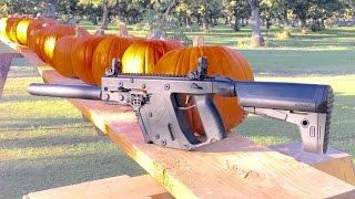 kriss vector vs pumpkin 9mm vs 45 acp