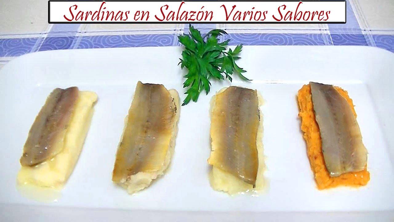 Sardinas en salmuera caseras
