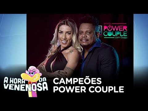 "Tati Minerato e Marcelo vencem o ""Power Couple Brasil"""