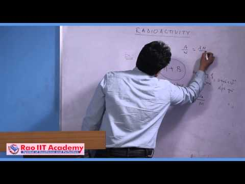 Carbon Dating and Some Other Concepts - IIT JEE Main and Advanced Chemistry Video Lecture