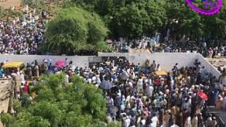 A l'enterrement de Ya Sayda Adja Zeynab Fall
