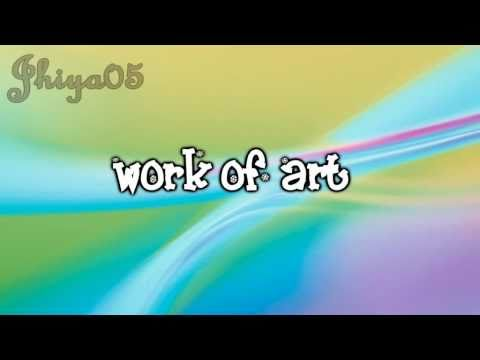 Work Of Art - Demi Lovato [Sonny with a chance] with Lyrics on Screen [HD]