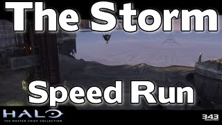 Halo MCC - Halo 3 Speedrun (Part 4: The Storm) - Devastating - Achievement Guide