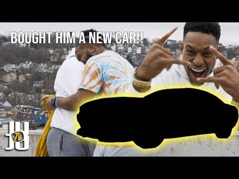 Surprising My Friend With His Dream Car! // JuJu Smith-Schuster