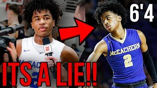 Sharife Cooper REACTS To INSANE GROWTH SPURT