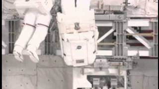 STS-135 Space shuttle Atlantis Expedition 28 stage EVA Pump module return/RRM install timelapse