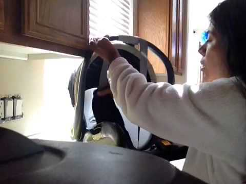How to clean the car seat seatbelt