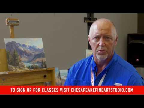 Scott L Christensen Workshop at Chesapeake Fine Art Studio
