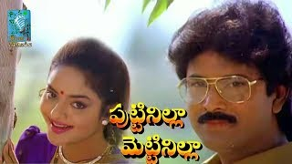 Puttinilla Mettinilla 1993 Telugu Full Movie HD    Bhanuchander, Madhoo
