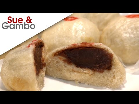 sweet-red-bean-steamed-buns-recipe