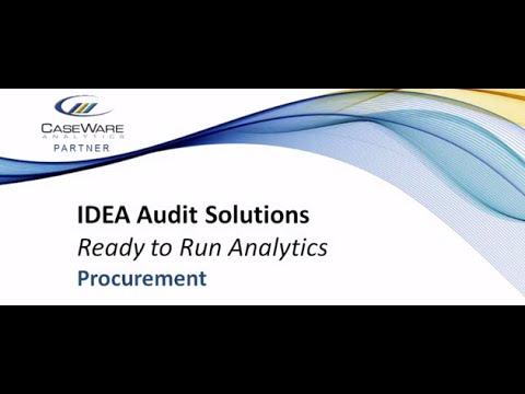 Procurement Controls Audit Solution