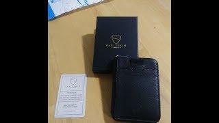 Vaultskin NOTTING HILL Slim Minimalist  Zip Wallet  Review