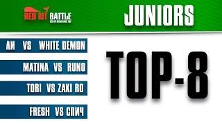 TOP-8 Juniors Red Kit break dance Battle