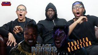 Marvel Studios' Black Panther War TV Spot Reaction