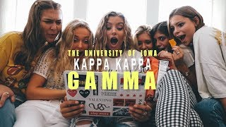 Kappa Kappa Gamma 2019- U of Iowa